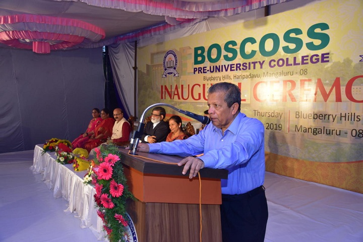 Boscoss Pre University College-Programme