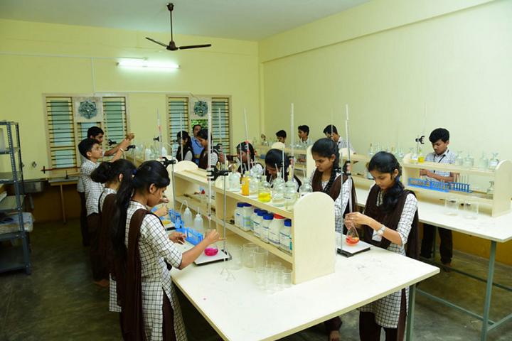 Narendra Pre University College-Chemistry Laboratory