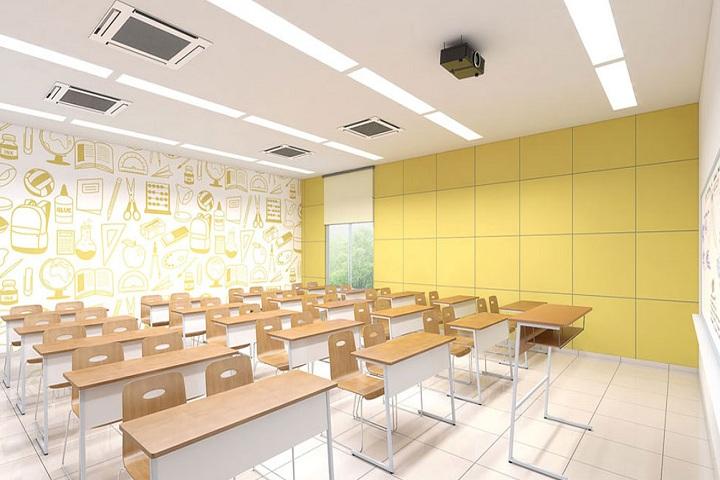 Shakthi Residential Pre University College-Classroom