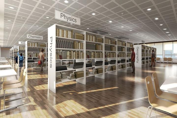 Shakthi Residential Pre University College-Library