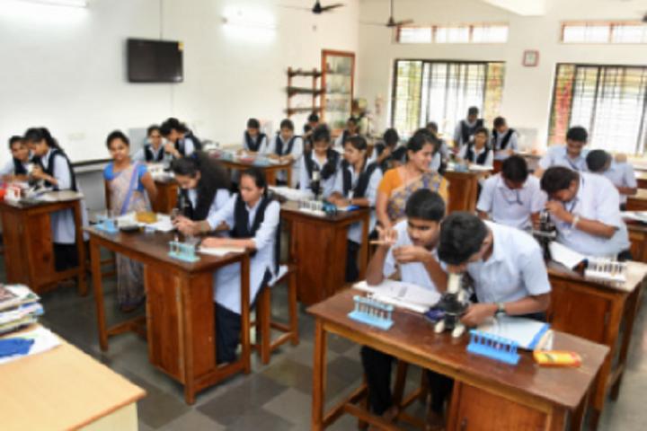 Poornaprajna Pre University College-Biology Laboratory
