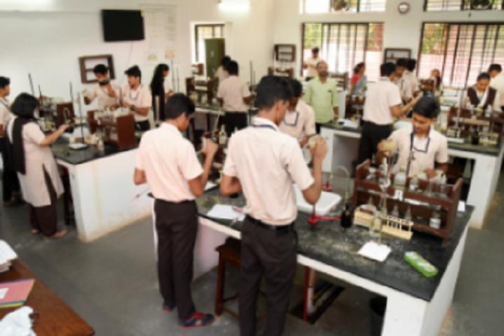 Poornaprajna Pre University College-Chemistry Laboratory
