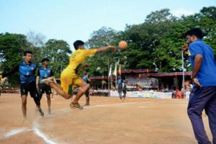 Poornaprajna Pre University College-Handball