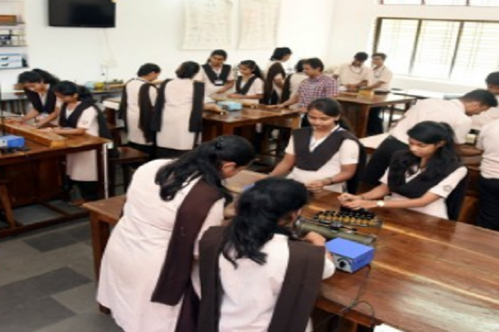 Poornaprajna Pre University College-Physics Laboratory