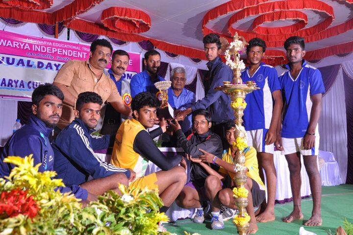 Aishwarya Independent Pre-University College-Prize Distribution