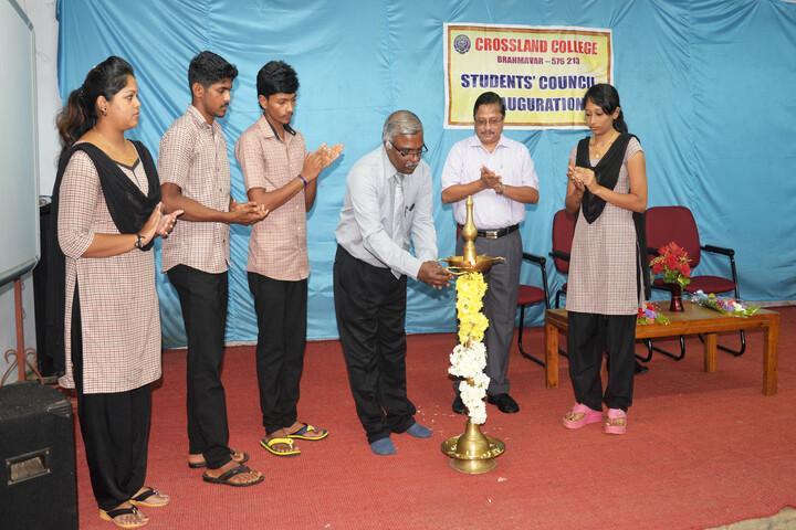 Crossland Pre-University College-Students Council Inauguration