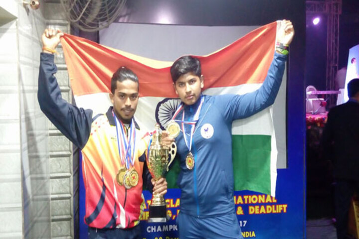 Crossland Pre-University College-Winners of Gold Medal in International power lifting competitions