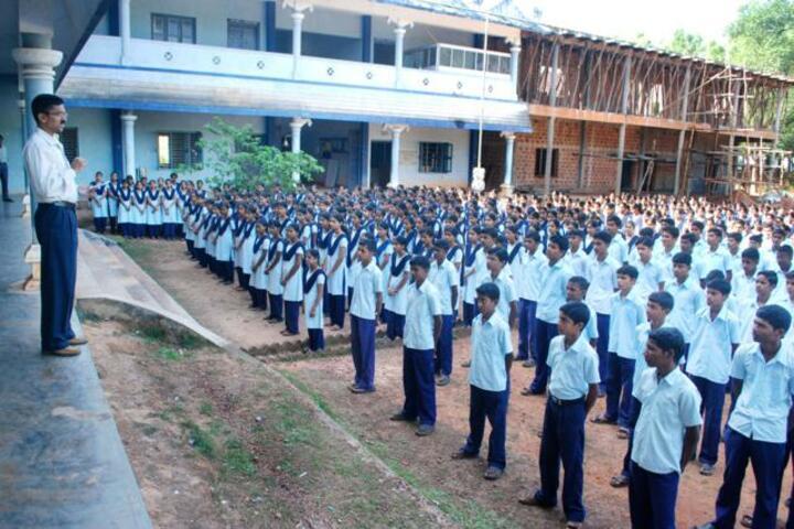 Sri Durga Parameshwari Temple Pre University College-Assembly