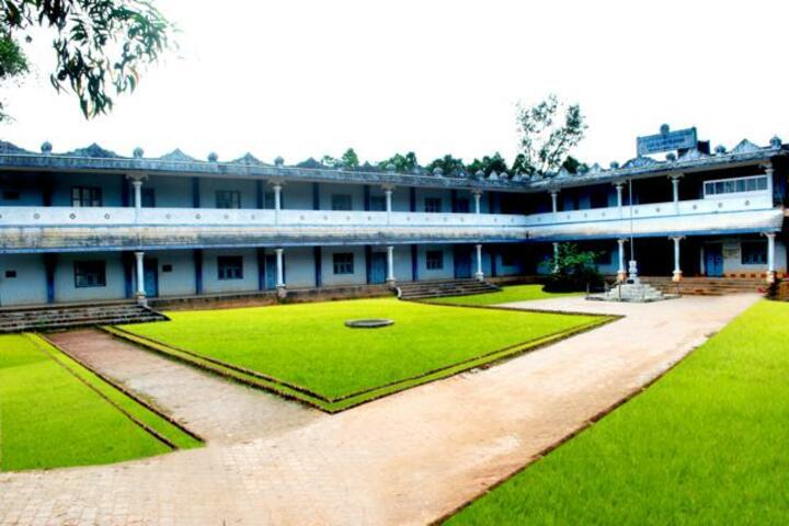 Sri Durga Parameshwari Temple Pre University College-Campus