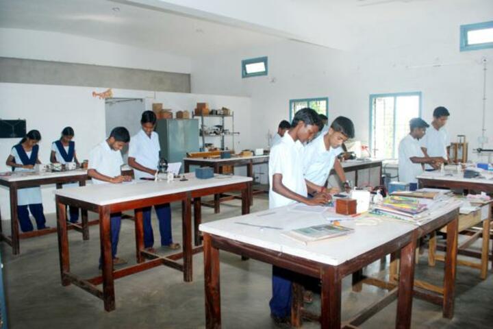 Sri Durga Parameshwari Temple Pre University College-Physics Lab