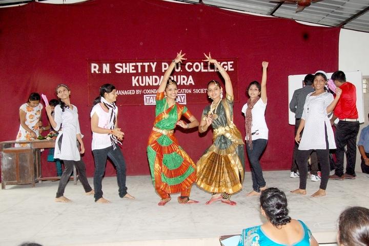 R N Shetty Composite Pre University College-Dance