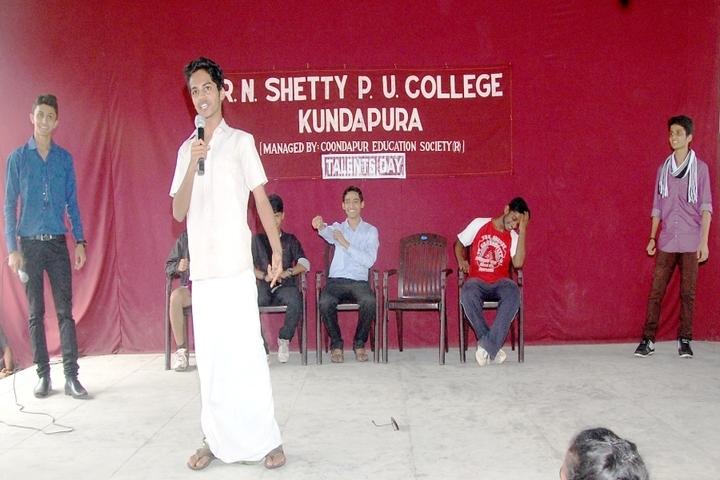 R N Shetty Composite Pre University College-Drama
