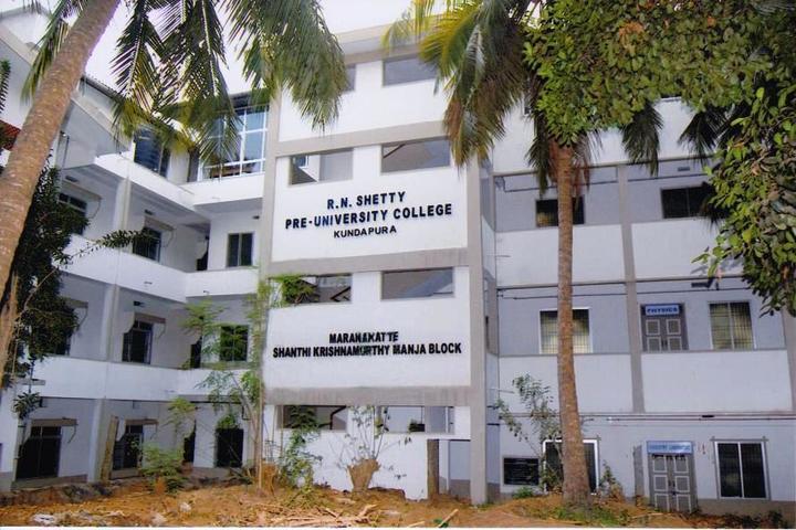 R N Shetty Composite Pre University College-School Building