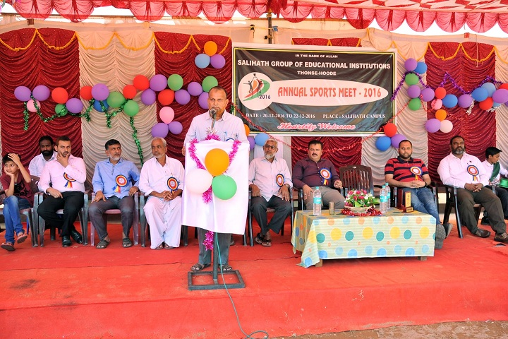 Salihath Pre University College-Sports Meet