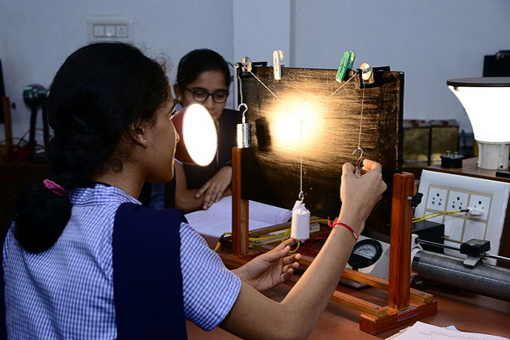 Karkala Jnanasudha Pre University College Laboratory