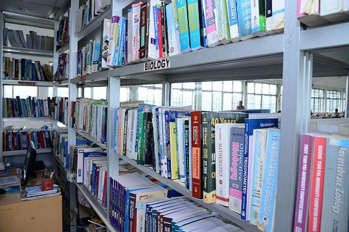 Karkala Jnanasudha Pre University College-Library