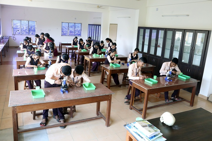 Ashrith Pre University College-Biology Laboratory