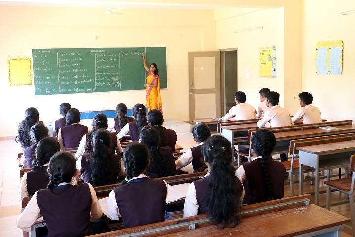 Ashrith Pre University College-Classroom