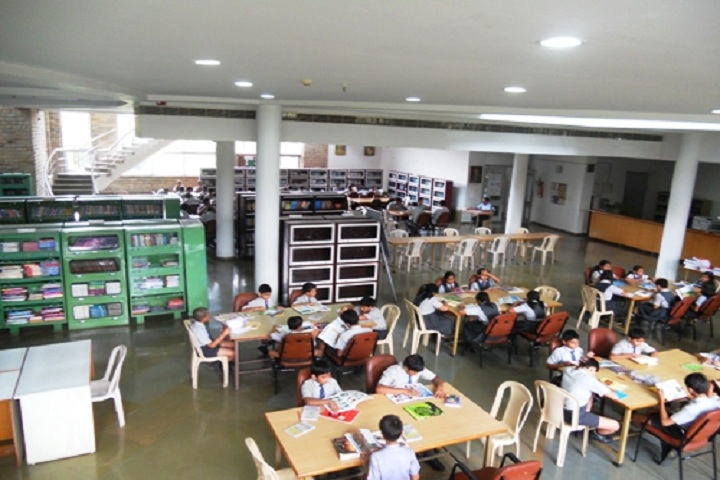 O.P. Jindal School-Library