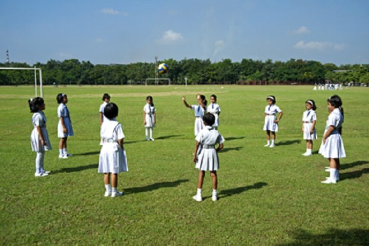 O.P. Jindal School-Play Ground