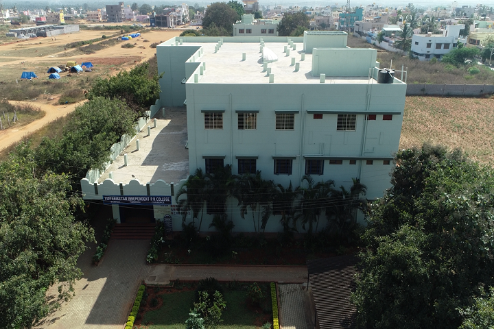 Vidyaniketan Independent Pre University College-College Building