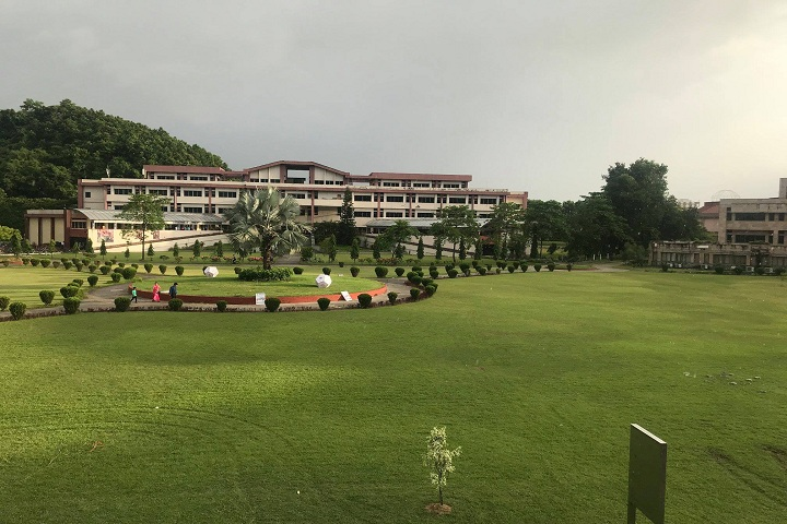 Saptagiri Pre University College-Campus-View