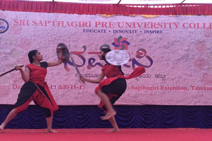 Saptagiri Pre University College-Function
