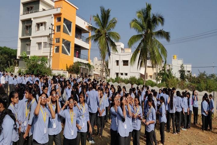 Saptagiri Pre University College-Students