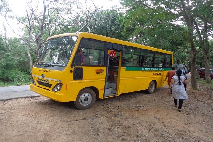 Saptagiri Pre University College-Transport