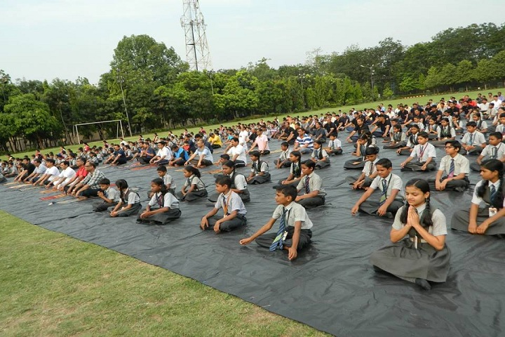 O.P. Jindal School NSPL-Yoga
