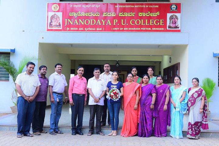 SVIC Jnanodaya Pre University College-Staff