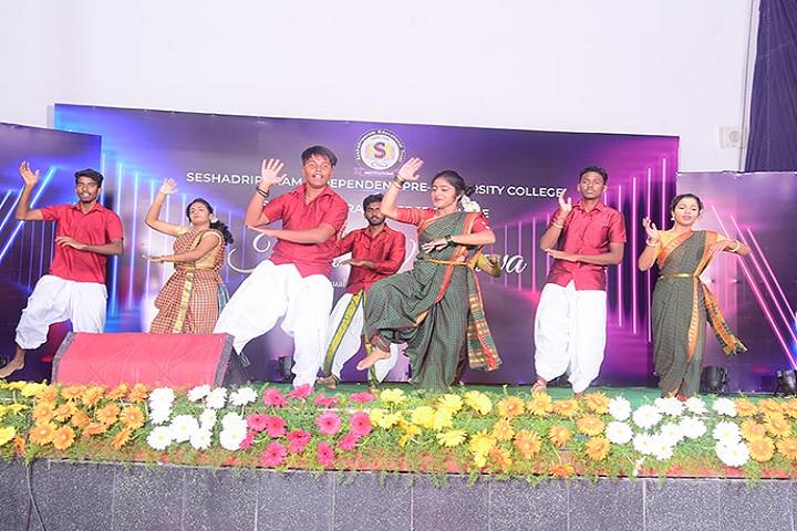 Seshadripuram Independent Pre University College-Annual Day