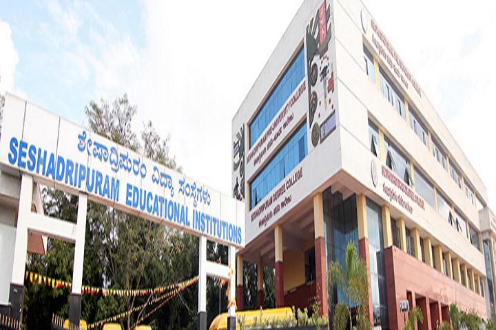 Seshadripuram Independent Pre University College-Campus-View