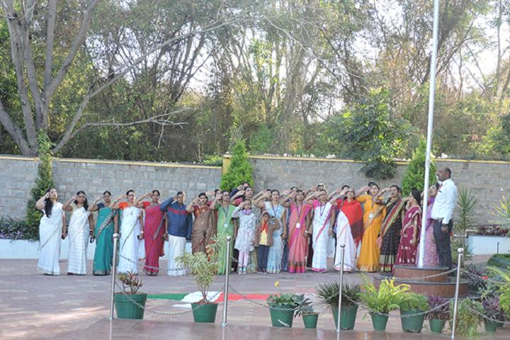 Seshadripuram Independent Pre University College-Republic Day