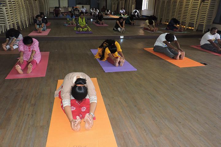Seshadripuram Independent Pre University College-Yoga