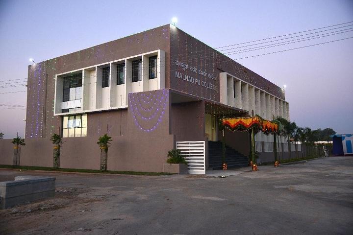 Malnad Pre University College-College Building