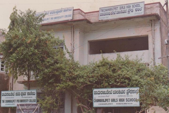 Chamarajpet Independent Pre University College-Campus-View