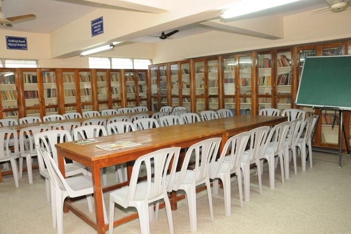 Chamarajpet Independent Pre University College-Library