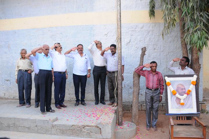 Arya Vidya Shala Pre-University College-Flag Hosting