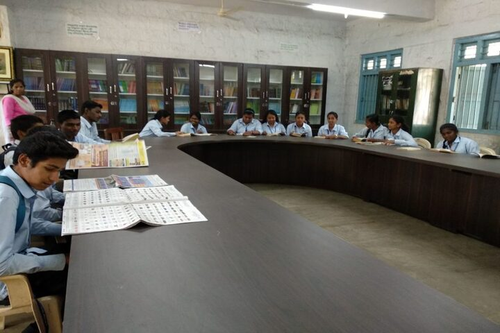 Arya Vidya Shala Pre-University College-Library