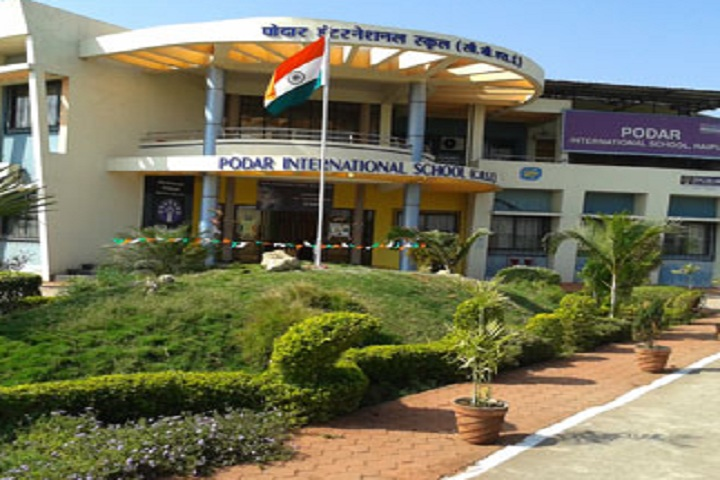 Podar International School-School building