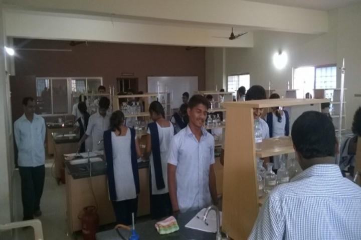 Vagdevi Pre-University Science College-Chemistry Lab