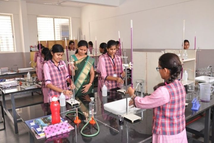 Navkis Residential Pre-University College for Girls-Chemistry Lab