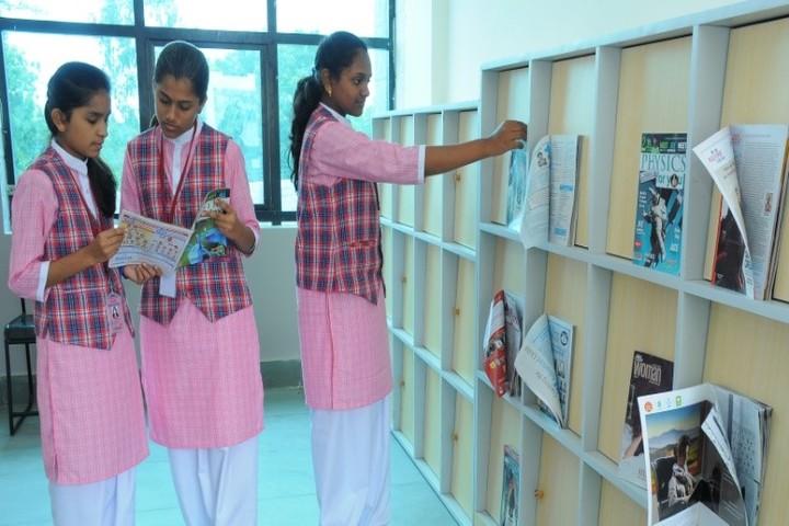 Navkis Residential Pre-University College for Girls-Library