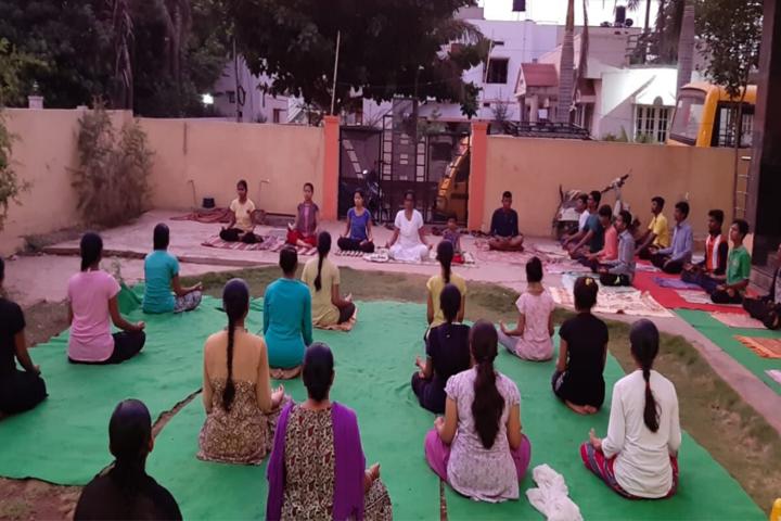 Vijaya Chetana Pre-University College-Yoga
