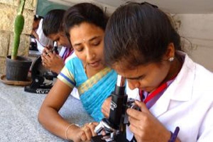 Vivekananda Pre University College for Women-Biology Laboratory