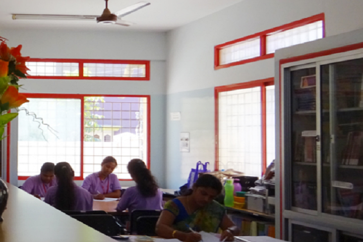 Vivekananda Pre University College for Women-Library View