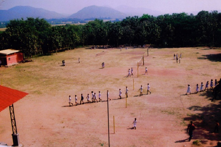 Jagadguru Sri Shivarathreeshwara Pre University College for Girls-Playground