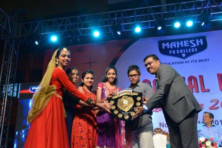 Mahesh Pre-University College-Awards
