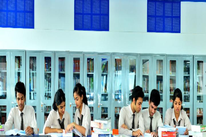 Mahesh Pre-University College-Library